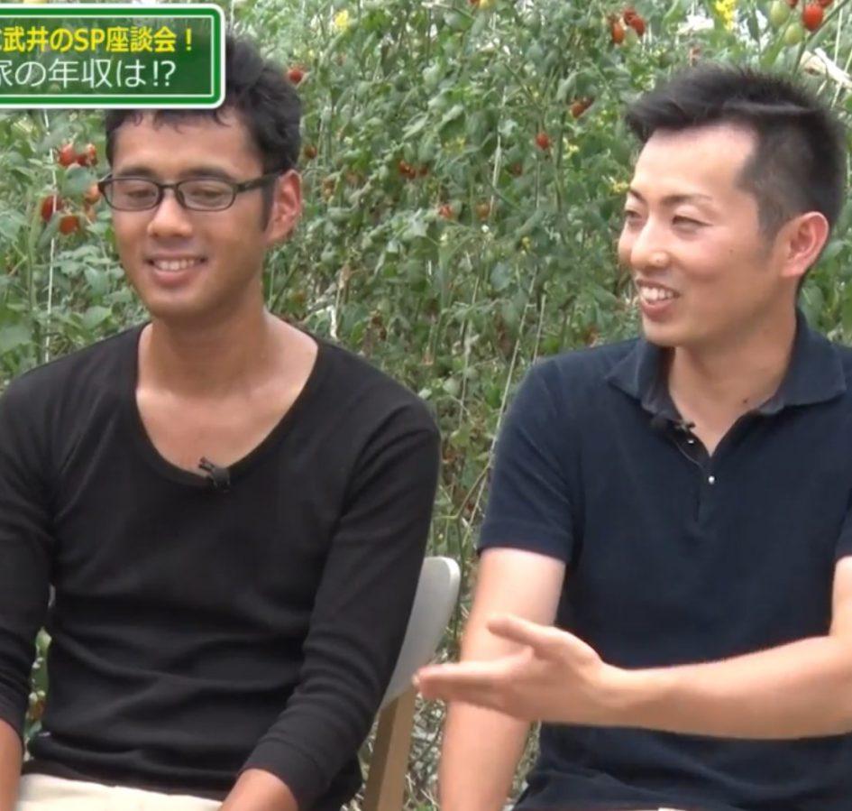 若手農家の2人