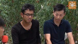 MC武井が若手農家にインタビュー